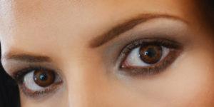 Черные глаза и карие